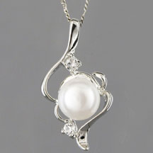 Fashion Freshwater Pearl Pendant, Note